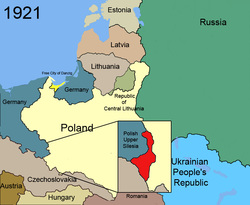 Upper Silesia and the League of Nations - Upper SilesiaSilesia Map Europe
